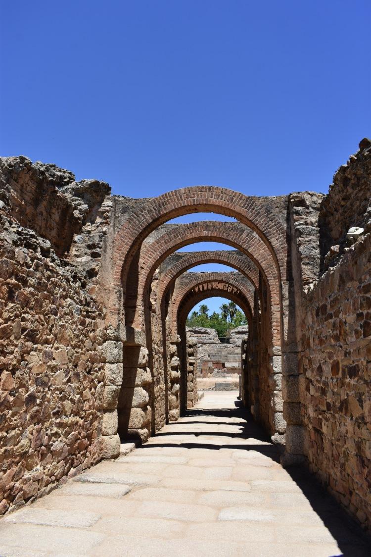 Roman ruins, Extremadura