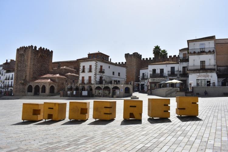 Plaza Mayor, Caceres