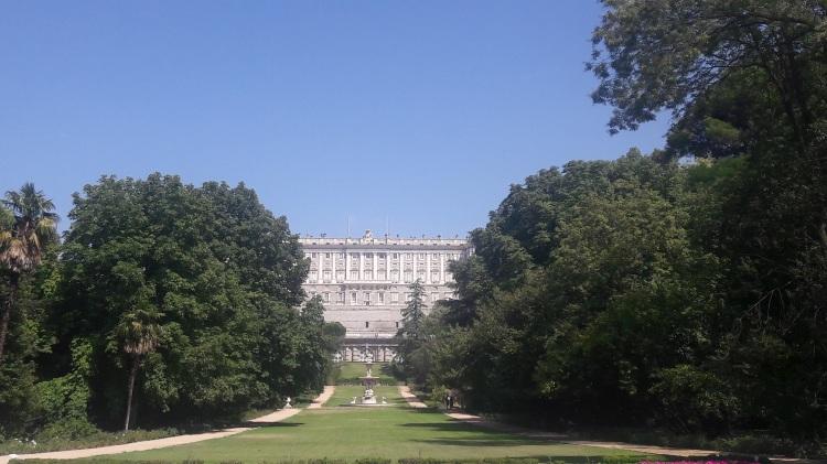 Royal Palace from Campo del Moro