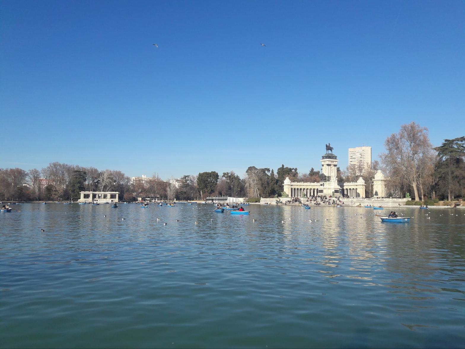 Boating Lake El Retiro